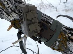 トレイルカメラ用ツリーマウント設置